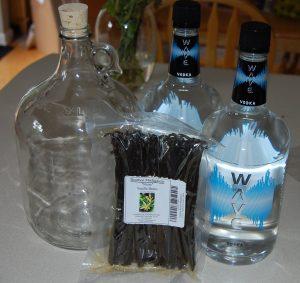 Vanilla Extract Supplies